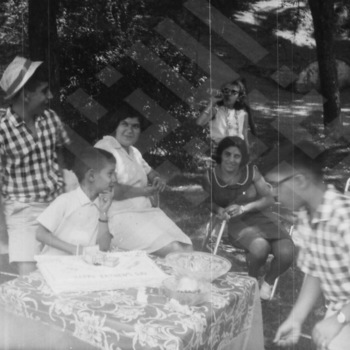 El-Khouri_Jabaley Isaac Families at El-Khouri Fathers Day 1965 -2.jpg