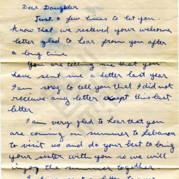 El-Khouri_Letter to Jennie Jabaley from Lebanon May19 1960_1_wm.jpg