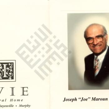 El-Khouri_Josephs Funeral leaflet exterior.jpg