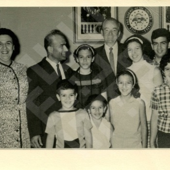 El-Khouri_Family visit with V.P. Hubert Humphrey-1.jpg