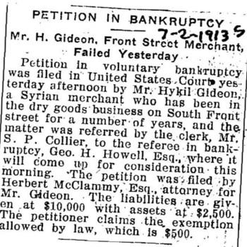 Wilmington_GideonHykil_1913s_PetitionInBankruptcy_Jul2.jpg
