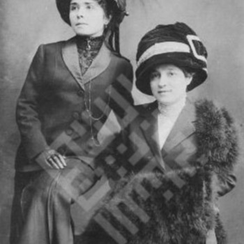 baddour_victoria and rose in hats_undated_wm.jpg