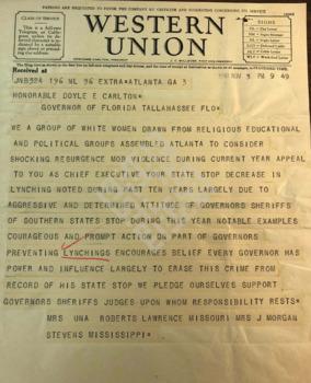 https://www.dropbox.com/s/apu9gyyi29au98s/1930.11.03_Telegram from Women vs Lynching to Govwm.pdf