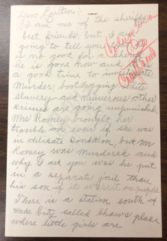 https://www.dropbox.com/s/0rnhmun11aavi8l/1929_Letter to Gov re Romeys Lawlessnesswm.pdf