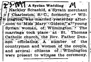 Wilmington_ScraehidNackley_GideonMary_1897m_ASyrianWedding_Feb3.jpg