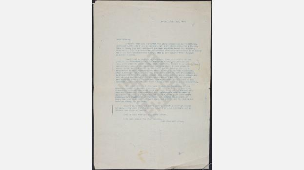 Letter from Ameen Rihani to Frank Holmes, 1924 July 2