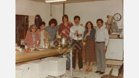 Saleh Family and Friends at Neomonde Opening, 1979