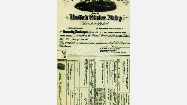 Mitchell David Baddour's Honorable Discharge