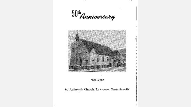 50th Anniversary Booklet on St. Anthony Maronite Church